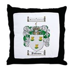 Patterson Family Crest Throw Pillow