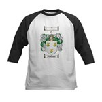 Patterson Family Crest Kids Baseball Jersey