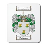 Patterson Family Crest Mousepad