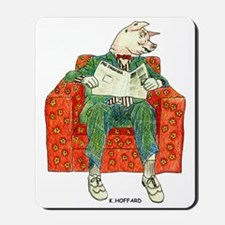 Pig Inquirer Mousepad
