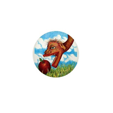 Snake in the Grass Mini Button (100 pack)