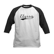 Vintage Elyssa (Black) Tee