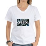 Beads - Create - Crafts Women's V-Neck T-Shirt