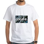 Beads - Create - Crafts White T-Shirt