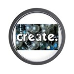 Beads - Create - Crafts Wall Clock