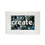 Beads - Create - Crafts Rectangle Magnet (100 pack