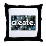 Beads - Create - Crafts Throw Pillow