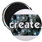 Beads - Create - Crafts Magnet