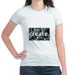 Beads - Create - Crafts Jr. Ringer T-Shirt