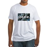 Beads - Create - Crafts Fitted T-Shirt
