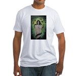 Enlightenment in the Garden o Fitted T-Shirt