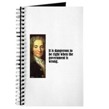 "Voltaire ""Dangerous"" Journal"