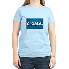 Spinnning Wheel - Create - Cr T-Shirt
