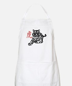Chinese Tiger Apron