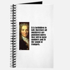 "Voltaire ""Forbidden"" Journal"