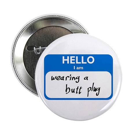 """Butt Plug 2.25"""" Button (10 pack)"""