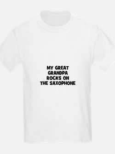 my great grandpa rocks on the T-Shirt