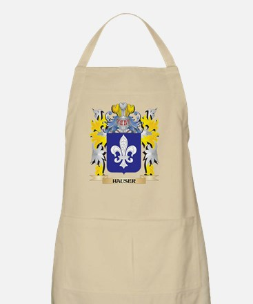 Hauser Coat of Arms - Family Crest Light Apron