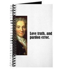 "Voltaire ""Love Truth"" Journal"