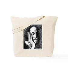 Pondering Man Tote Bag