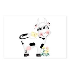 Cute Cow Postcards (Package of 8)