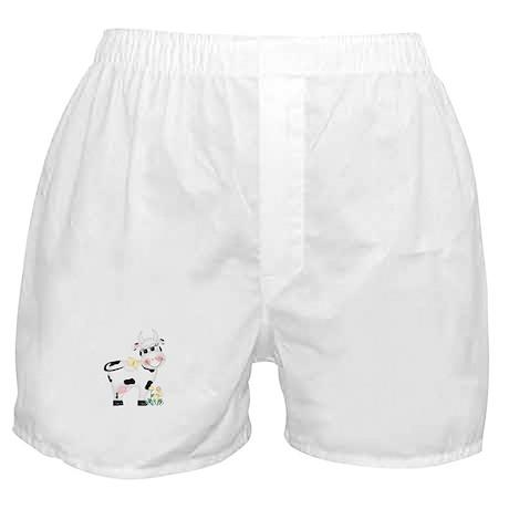 Cute Cow Boxer Shorts