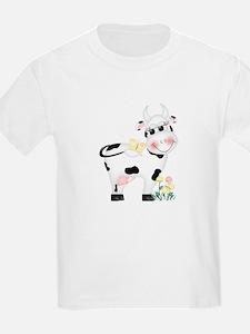 Cute Cow Kids T-Shirt