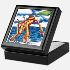 Monster Splash Keepsake Box