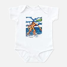 Monster Splash Infant Bodysuit