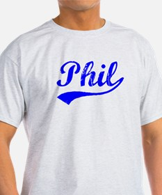 Vintage Phil (Blue) T-Shirt