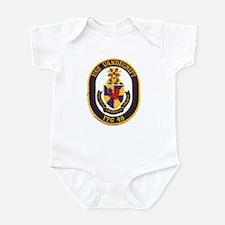 USS VANDEGRIFT Infant Bodysuit