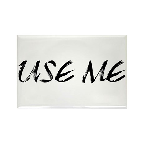 Use Me Rectangle Magnet (100 pack)