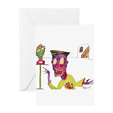 Cute Hoff Greeting Card