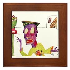 Funny Hoodwinks Framed Tile