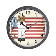 Troop Salute Wall Clock