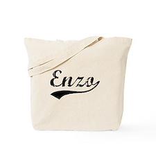 Vintage Enzo (Black) Tote Bag
