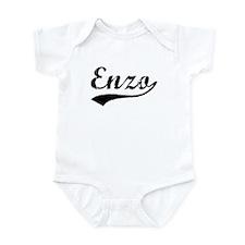 Vintage Enzo (Black) Infant Bodysuit
