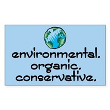 Environmental Organic Rectangle Decal