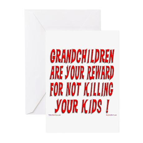 Grandchildren Reward Greeting Cards (Pk of 10)
