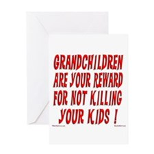 Grandchildren Reward Greeting Card