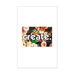 Buttons - Create - Sewing Cra Posters