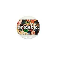 Buttons - Create - Sewing Cra Mini Button (10 pack