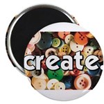 Buttons - Create - Sewing Cra Magnet