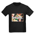 Buttons - Create - Sewing Cra Kids Dark T-Shirt