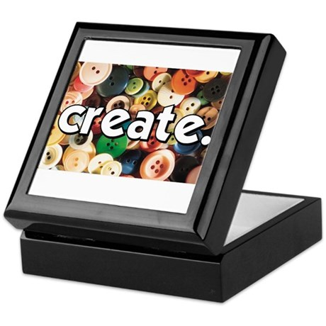 Buttons - Create - Sewing Cra Keepsake Box