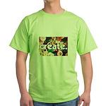 Buttons - Create - Sewing Cra Green T-Shirt