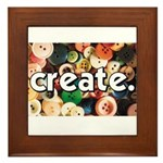 Buttons - Create - Sewing Cra Framed Tile