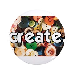 "Buttons - Create - Sewing Cra 3.5"" Button"