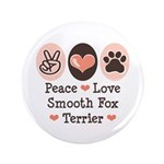 Peace Love Smooth Fox Terrier 3.5