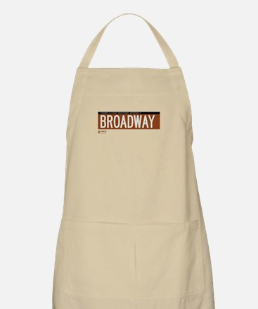 Broadway in NY BBQ Apron